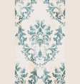 vintage seamless ornament pattern baroque vector image vector image