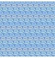 Wave different seamless patterns tiling vector image vector image