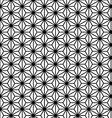 Asanoha vector image vector image