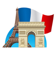france symbol vector image vector image