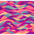 Mosaic abstract wave background Colorful abstract vector image vector image