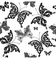 seamless graphic pattern vector image