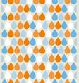 seamless water drops background raindrop wet vector image