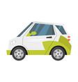 eco-friendly transport vector image vector image