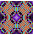 Geometric Retro Seamless Pattern vector image vector image