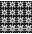 Seamless texture with Gothic elements vector image vector image