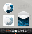 CD modern Design template corporate identity vector image