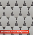 Seamless Metal Background vector image