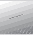 abstract stripes geometric gray and white vector image vector image