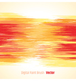 Digital paint background red vector image vector image
