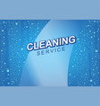 emplate for windows cleaning vector image vector image