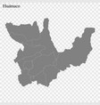 high quality map is a province peru vector image vector image