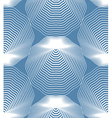 stripy endless pattern art continuous geometric vector image vector image