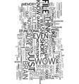 wow text word cloud concept vector image vector image