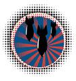 Cartoon Air Bomb4 vector image vector image
