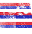 Flag of Republika Srpska with old texture vector image vector image