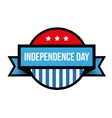 independence day - fourth july vintage stamp vector image