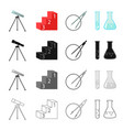 school institute profession and other web icon vector image