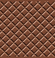 seamless pattern sweet chocolate texture vector image