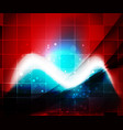 shiny wave magicabstract background vector image vector image