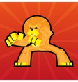 Team Logo Battle Claws Lion Symbol Sport Mascot vector image vector image