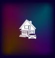 house concept icon vector image