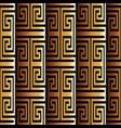 3d greek seamless pattern vector image