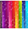Colorful Background With Bokeh vector image vector image
