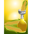 corn syrup vector image vector image