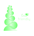 Eco friendly concept background vector image vector image