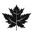 gooseberry leaf icon simple style vector image vector image