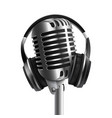 headset - headphones with microphone 3d realistic vector image