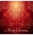 Merry Christmas Theme vector image