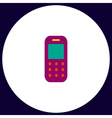 Mobile phone computer symbol vector image vector image