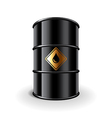 oil barrel isolated vector image vector image