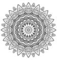 Peacock Mandala vector image