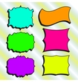Set of Hand-drawn frames for your design vector image vector image