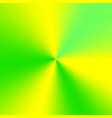 yellow-green conical gradient vector image vector image