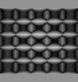 black and white geometric technology background vector image