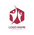 community logo design and icon vector image vector image