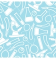 seamless scientific pattern vector image