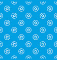 video objective pattern seamless blue vector image vector image
