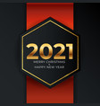 2021 new year and merry christmas background vector image