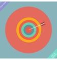 Corporate style vivid arrow design vector image vector image