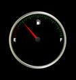 fuel gauge meter vector image vector image