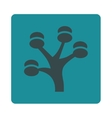 Money Tree Icon from Commerce Buttons OverColor vector image