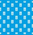 music speaker pattern seamless blue vector image vector image