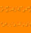 orange modern abstract background vector image vector image