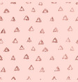 rose gold triangle elegant abstract repeatable vector image