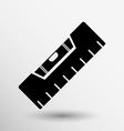 building level icon button logo symbol concept vector image